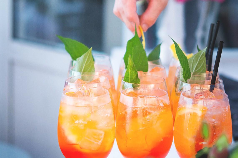 Skärets Café & Bistro fruktiga drinkar